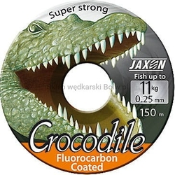 Żyłka jaxon crocodile fluorocarbon coated niewidoczna 0,22mm 9kg 150m