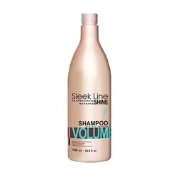 Sleek line volume szampon z jedwabiem 1000 ml