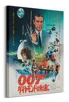 James Bond Diamonds are forever Foreign Language - Obraz na płótnie