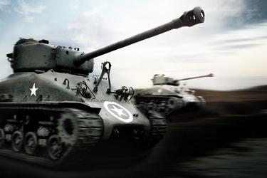 Fototapeta czołgi 865a