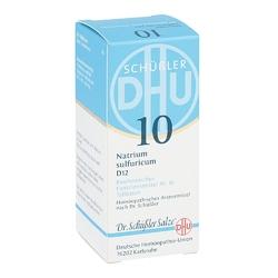 Biochemie dhu sól nr 10 siarczan sodowy d12 tabletki