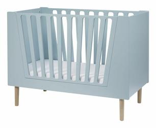 Łóżeczko dziecięce Done by Deer niebieskie