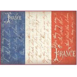 Papier ryżowy Stamperia A4 Francja