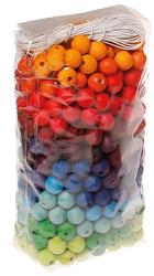 480 kolorowych koralików, 12 mm, 3+, Grimms