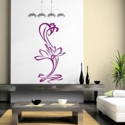 Szablon malarski kwiat, kwiaty k20