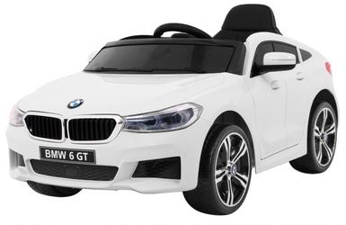 Bmw 6 gt biały samochód na akumulator