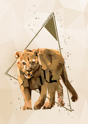Puma - plakat Wymiar do wyboru: 29,7x42 cm