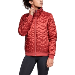 Kurtka damska under armour cg reactor performance jacket - czerwony