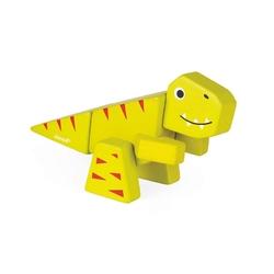 TYRANOZAUR drewniany dinozaur do złożenia