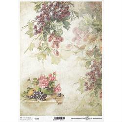 Papier ryżowy ITD A4 R1263 winogrona
