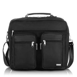 Funkcjonalna torba do pracy lo-01 czarna