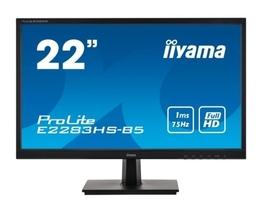 Iiyama monitor 21.5 cala e2283hs-b5 fhd,hdmi,dp,vga,tn,2x1w