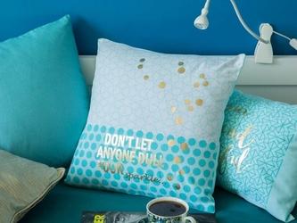 Poszewka na poduszkę dekoracyjna altom design, kolekcja ibiza, dekoracja plaster miodu 40x40 cm