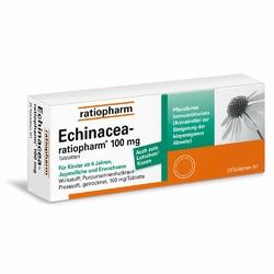 Echinacea Ratiopharm 100 mg tabletki