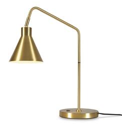 Its about romi lampa stołowa lyontgo, złota lyontgo