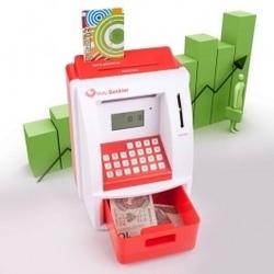 Skarbonka bankomat - mały bankier