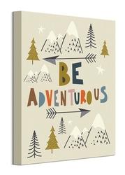 Be adventurous - obraz na płótnie