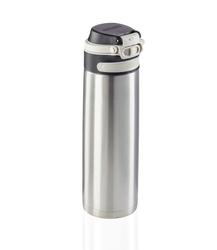 Kubek termiczny flip 600 ml, srebrny