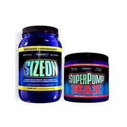 Gaspari nutrition sizeon max performance 1632 g + super pump max 480 g