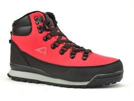 Trekking softshell american club  wt7520 czerwone