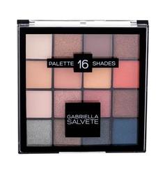Gabriella salvete palette 16 shades cienie do powiek dla kobiet 20,8g