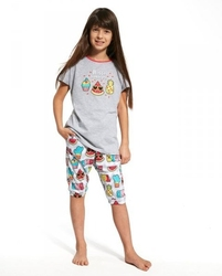 Piżama dziewczęca cornette kids gil 08059 hello summer krr 86-128