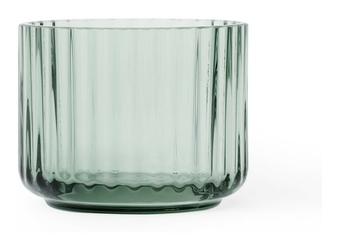 Świecznik szklany Lyngby Copenhagen Green