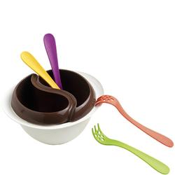 Zestaw do czekoladowego fondue z kuchenki mikrofalowej Mastrad MA-F47921