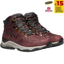 Buty trekkingowe damskie keen innate leather mid wp x sherpa