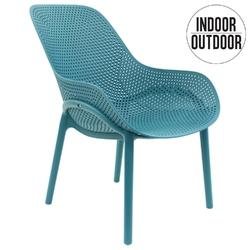 Krzesło malibu niebieskie - niebieski