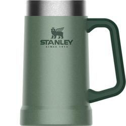 Kufel do piwa termiczny z uchwytem Stanley Adventure 0,7 Litra zieleń młotkowana 10-02874-033