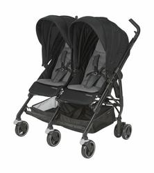 Maxi Cosi Dana For2 Nomad Black Wózek spacerowy Bliźniaczy