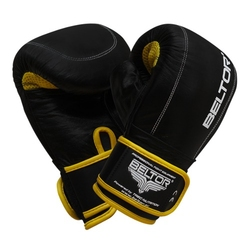Beltor rękawice przyrządowe punch czarno-żółte