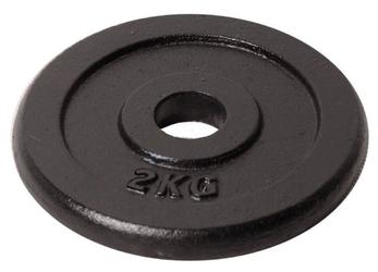 Obciążenie żeliwne czarne 2kg