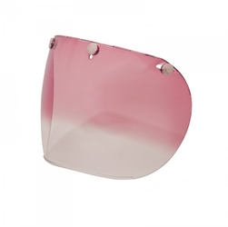 Szyba bell custom 500 3 snap retro pink gradient