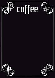 Tablica magnetyczna kredowa coffee 18