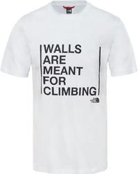 T-shirt męski the north face walls climbing t93s3sfn4