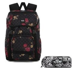 Plecak szkolny vans ranger botanical check - vn0a3ng2uwx + piórnik