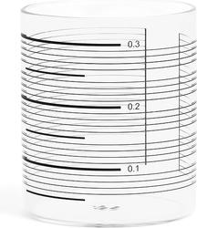 Szklanki 0,3 l w komplecie 4 szt. tre Single Line