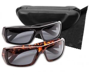 Polaryte hd okulary czarne i panterka przeciwsłoneczne