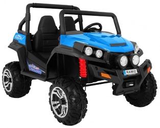 Grand buggy 4x4 niebieski dwuosobowy pojazd terenowy