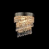 Kinkiet kaskada podłużnych kryształów cascade maytoni classic dia522-wl-01-g