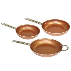 Zestaw patelni miedzianych starlyf copper pan