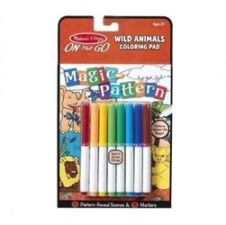Melissa and doug magiczna kolorowanka – dzikie zwierzęta