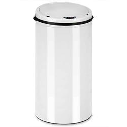 Automatyczny kosz na śmieci biały 30l - biały  30 l