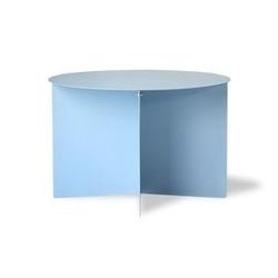Hkliving :: okrągły stolik kawowy niebieski metalowy 60