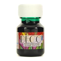 Witrażowa farba do szkła deco 30 ml - zielony - ziel