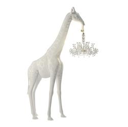 Qeeboo żyrafa lampa giraffe in love 2,65 m biała 19003wh