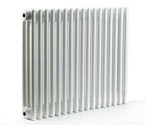 Grzejnik pokojowy retro - 3 kolumnowy, 400x1000, białyral - biały