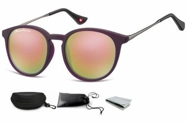 Okulary dziecięce lenonki unisex lustrzanki matowe cs71c
